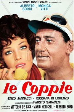 Le coppie (1970) locandina