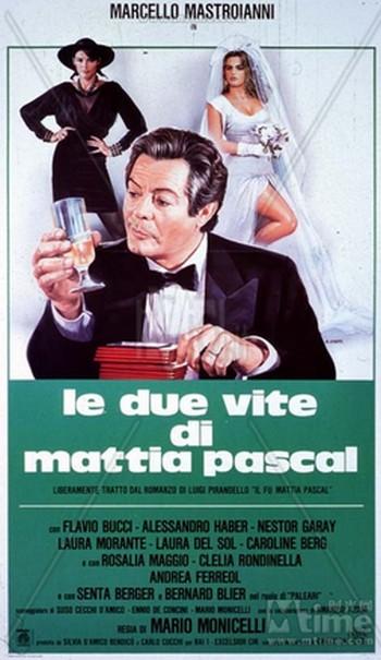 Le due vite di Mattia Pascal locandina 1