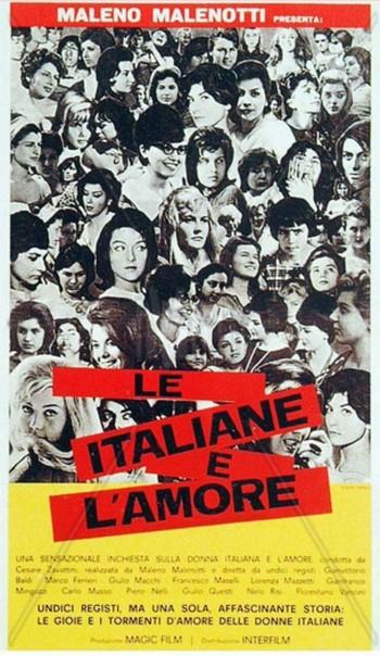 Le italiane e l'amore locandina