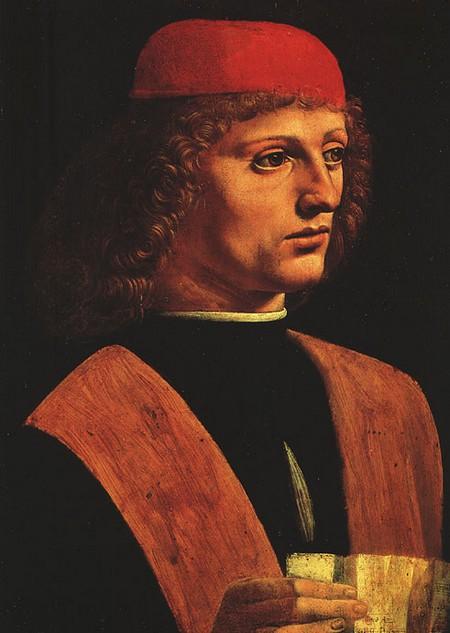 Leonardo 12 Ritratto di un musico