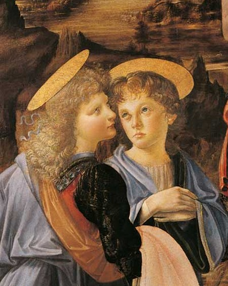 Leonardo 17Angelo Verrocchio
