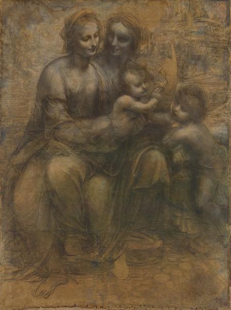 Leonardo 18 Cartone di Sant'Anna