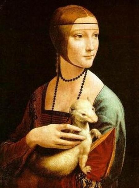 Leonardo 2 La dama con l'ermellino