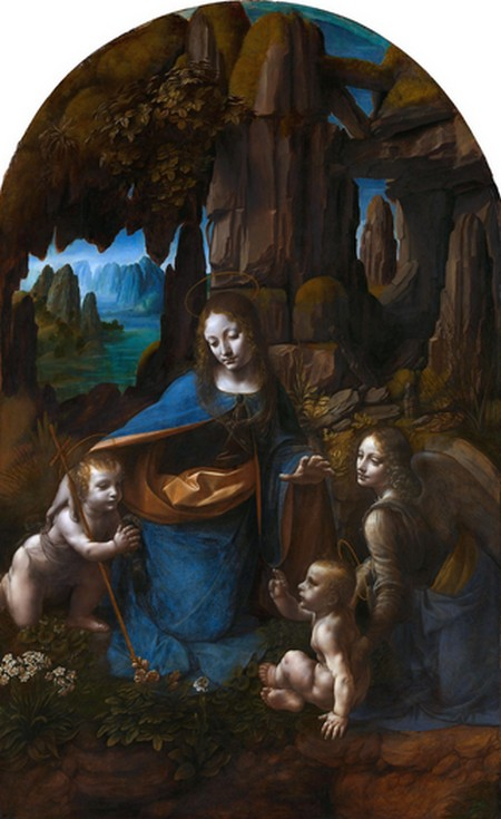 Leonardo 4 La vergine delle rocce Parigi