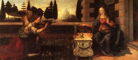Leonardo 5 L'annunciazione Firenze