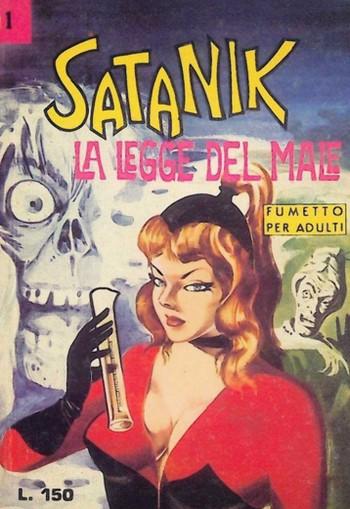 Satanik fumetto 1