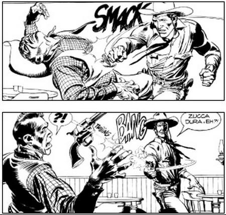 Tex e il signore degli abissi fumetto 2