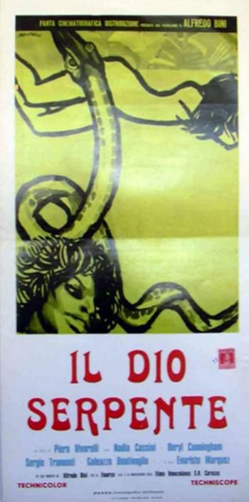 10 Il dio serpente locandina