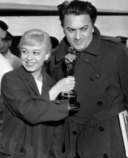12-01 Federico Fellini Oscar La strada 1957