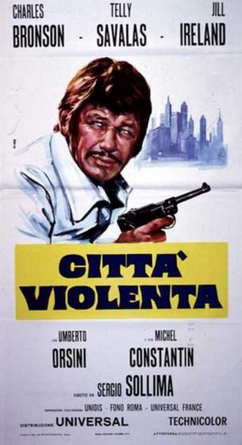 13 Città violenta locandina