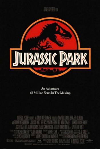 16 Jurassic Park locandina