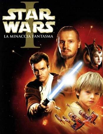 17 Star wars 1 la minaccia fantasma locandina