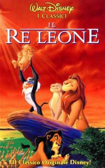 19 Il re leone locandina