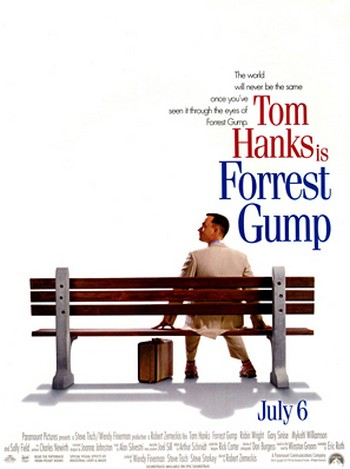 24 Forrest Gump locandina