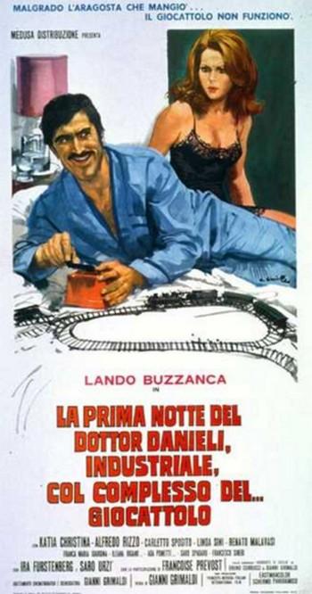 25 La prima notte del dr Danieli locandina