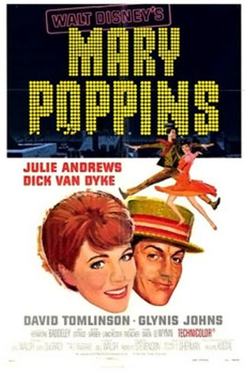25 Mary Poppins locandina