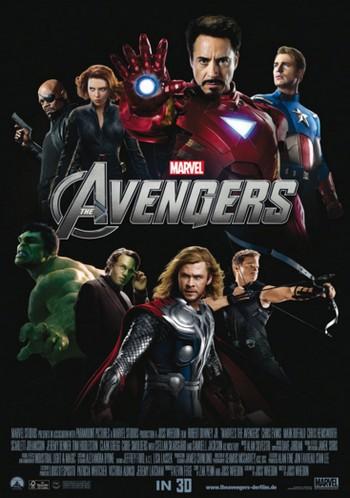 27 The avengers locandina