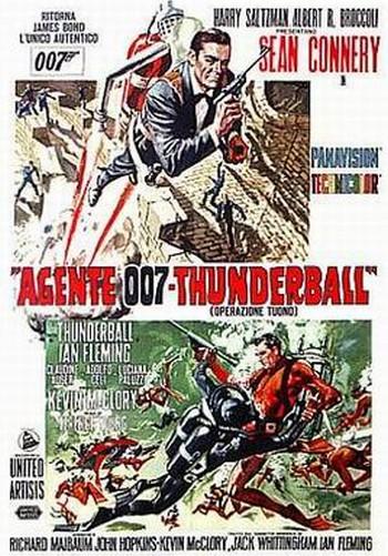 28 007 Thunderball locandina