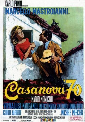 3 Casanova '70 (1965) locandina