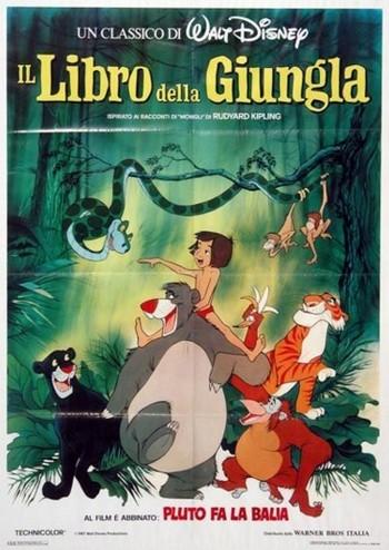 30 Il libro della giungla locandina