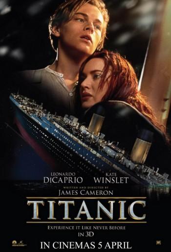 5 Titanic locandina