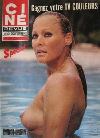 6 Ursula Andress