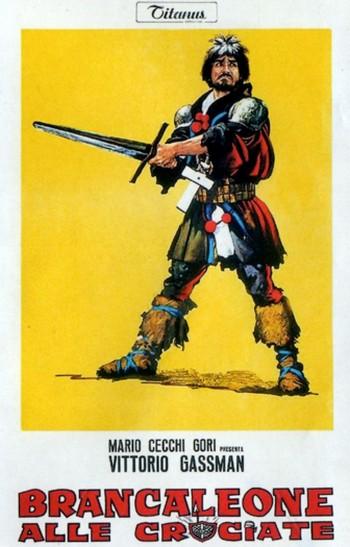8 Brancaleone alle crociate locandina