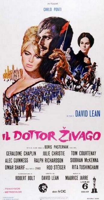 8 Il Dottor Zivago locandina
