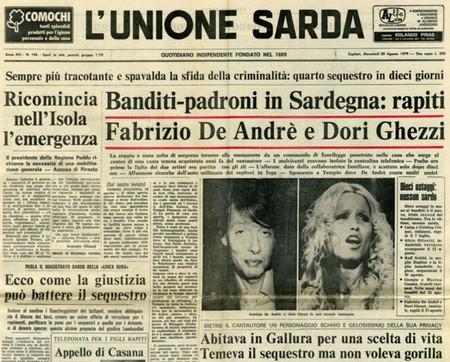 Accadde nel 1979 Rapimento di De Andrè