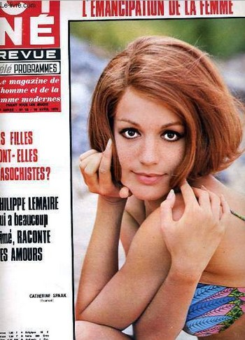 Cine Revue 30 Catherine Spaak