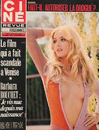 Cine Revue 6 Barbara Bouchet