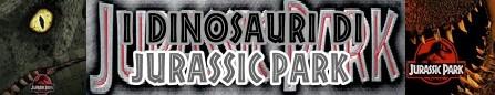 Jurassic Park banner i dinosauri