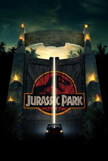 Jurassic Park locandina 2