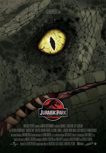 Jurassic Park locandina 3