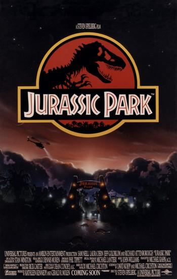Jurassic Park locandina 5