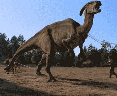 Jurassic Park Parasaurolophus