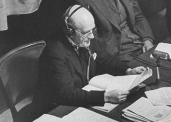 Nuremberg c2 Geoffrey Lawrence giudice principale