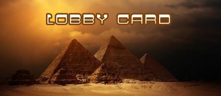 001 Banner Egitto lobby card