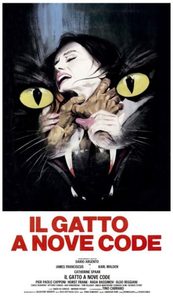 2-2 Il gatto a nove code  locandina
