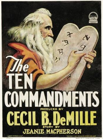 2 -3 I dieci comandamenti 1923
