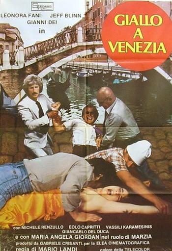 2 Giallo a Venezia locandina