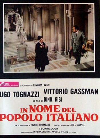 2 In nome del popolo italiano  locandina