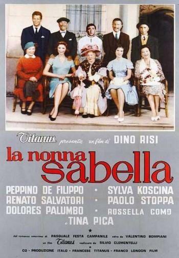 2 La nonna Sabella  locandina