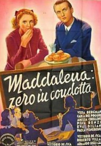 2 Maddalena... zero in condotta locandina
