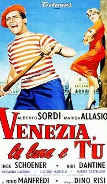 2 Venezia, la luna e tu  locandina