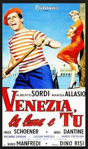 2 Venezia la luna e tu locandina