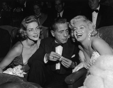 3 Marilyn Monroe e Bogart