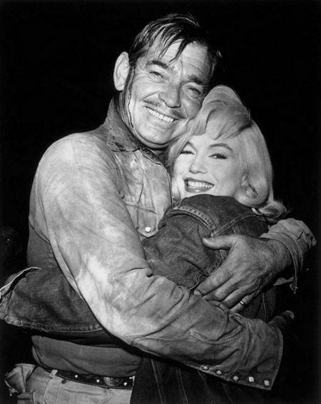 3 Marilyn Monroe e Clark Gable