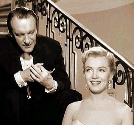 3 Marilyn Monroe e George Sanders