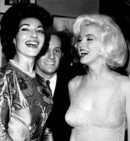 3 Marilyn Monroe e Maria Callas